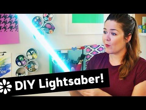 DIY Lightsaber - April Fools' | Sea Lemon