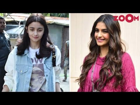 Alia Sports A Denim Outfit | Sonam's Fabulous Look In A Maxi & More