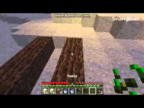 Minecraft 101 Basics - PART 4 How to plant (Trees, wheat, carrot, potatoes etc.)