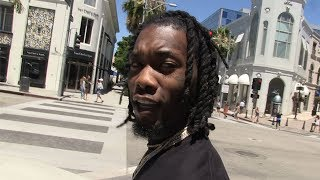 Offset almost got in a fight with a hater at Lenox Mall while shopping even though he