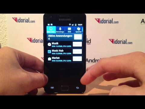 Taskmanager bei Android Smartphones aufrufen - so geht's