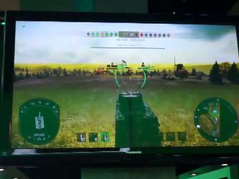 E3 2013 - World of Tanks XBOX 360