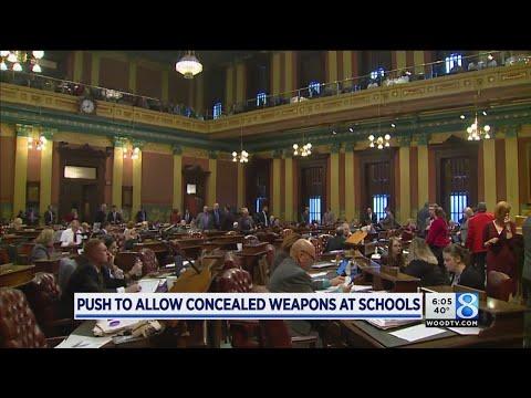 Bill reforming MI gun-free zones passes committee