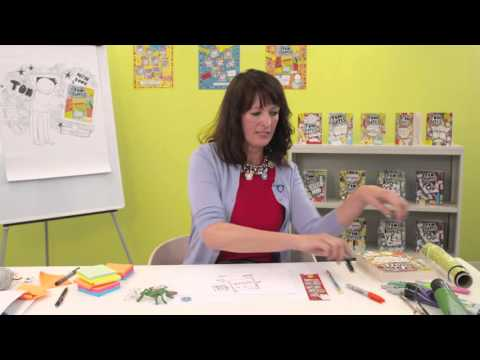 Liz Pichon shows you how to doodle an AMAZING monster!