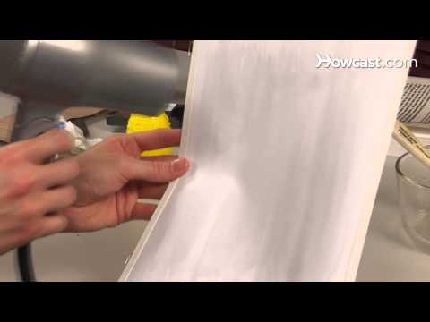 How to Age or Stress White Card Stock for Scrapbooking