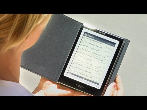 How To Use the Reader Digital Book By Sony PRS-700