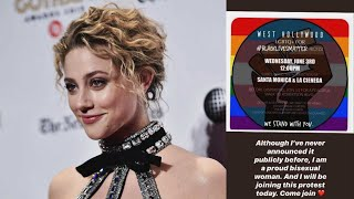 Lili Reinhart Comes Out as a 'Proud Bisexual Woman' After Split From Cole Sprouse