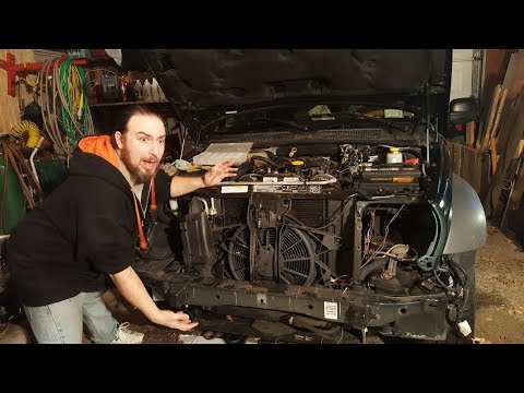 Jeep Liberty CRD Front end removal