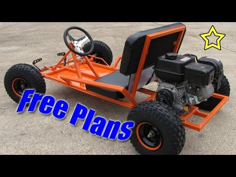Go Kart Build Free Plans (PDF Download)