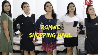 First Try on ROMWE | Online Clothing Shopping: Value for MONEY