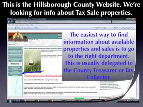 Tax Lien & Tax Deed Online Resources - How to Get Started