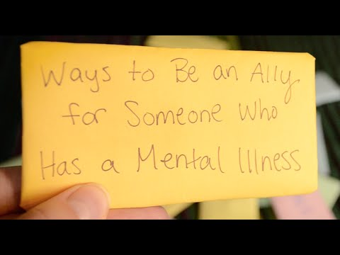 Ways to Be an Ally for Someone Who Has a Mental Illness