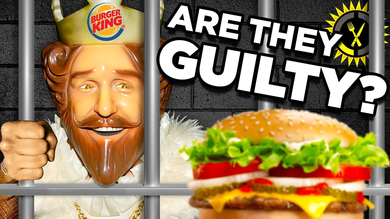 Food Theory: DidBurgerKingJUST Break The Law?