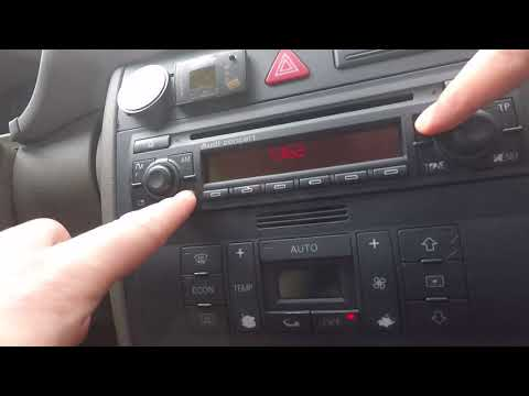 Audi Concert Radio - Safe mode