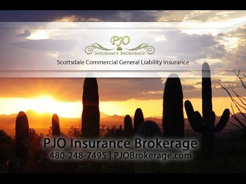 Scottsdale Commercial General Liability Insurance | PJO Brokerage AZ