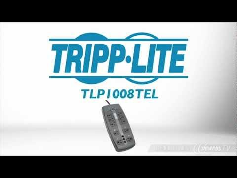Product Tour: Tripp Lite TLP1008TEL 8ft. 10 Outlets Surge Suppressor