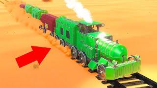 BUILD THE BEST TRAIN CHALLENGE! (Trailmakers)