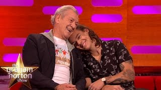 Download Harry Styles and Ian McKellen Have a Cuddle - The Graham Norton Show Video