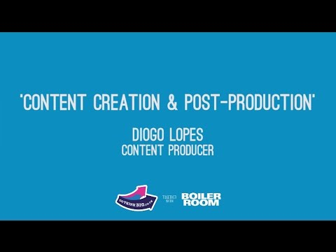 Content Creation & Post-Production masterclass