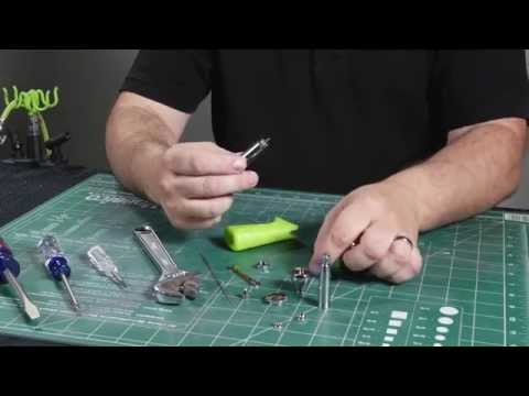 Grex Tritium Series Airbrushes - Full Dis-assembly and Assembly