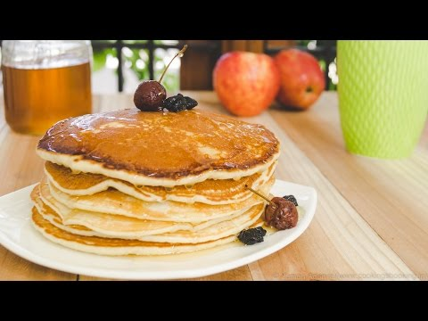 Eggless Pancakes Recipe - Stir it Up, QUICK!