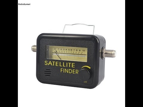 Kebidumei New Digital Satellite Finder Meter FTA LNB DIRECTV Signal Pointer SATV Satellite TV Receiv