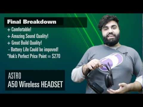 Void that Warranty Astro A50 Wireless Headset Xbox 360 PS3 Review + Unboxing