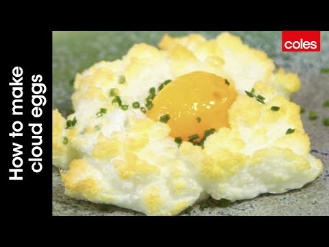 This is how to make cloud eggs
