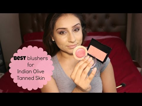 Drugstore blushers for Indian Olive Tanned Skin || Makeup with Raji