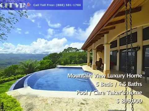 How To Find Luxury Mountain Homes For Sale in Atenas, Costa Rica - From $650k