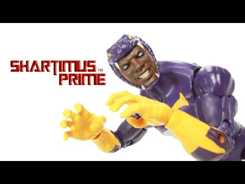 Marvel Legends Cottonmouth Captain America Red Onslaught BAF Wave Toy Action Figure Review