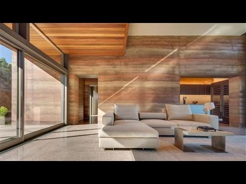 Rammed-Earth Construction Gets Luxury Makeover