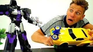 Download Спиннер - Автоботы vs Десептиконы - Видео игрушки для мальчиков Video
