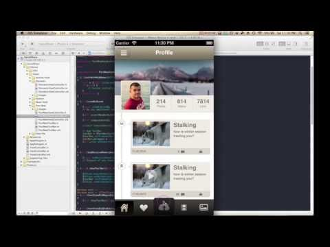 How To Make iPhone/iPad Apps: Build An iOS App In 10 Minutes (Part 1) [App Templates]