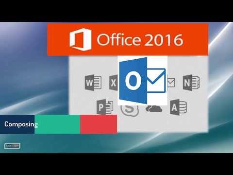 Outlook 2016 Tutorial: Composing and Sending Professionally Formatted Multimedia Emails