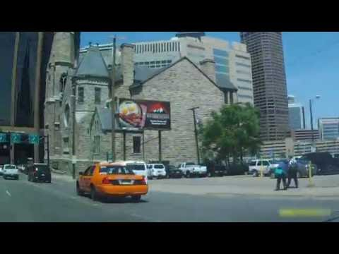 Driving in Colorado (Denver) - Washington Park & Downtown via Lincoln St by Car