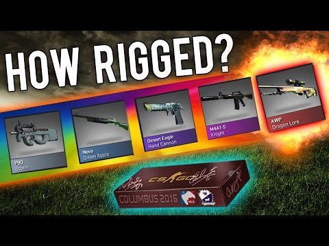 How Rigged Is The Cobblestone Case? (CSGO Skins)
