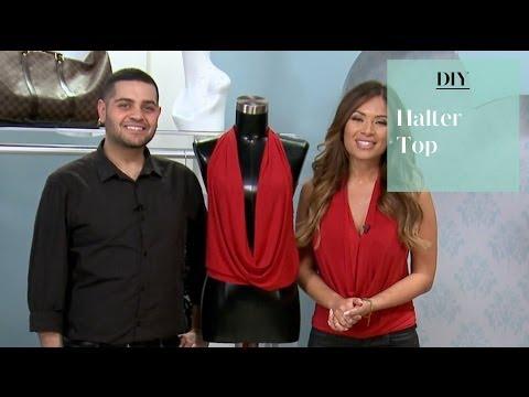 DIY: No Sew Halter Top with Michael Costello