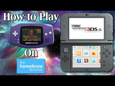 3DS Homebrew Guide: How to Play GameBoy/Gameboy color & Gameboy Advance Games (non-piracy)
