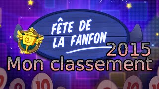 Fete De La Fanfon 2015 Mon Classement
