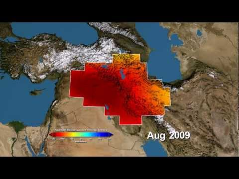 Satellites Show Groundwater Pumping is Draining Vital Middle East Water Supply