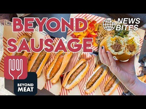 These Vegan Sausages Taste like REAL MEAT! | News Bites