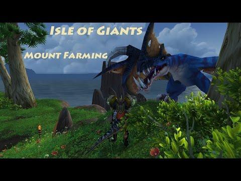 Isle of Giants Mounts - World of Warcraft