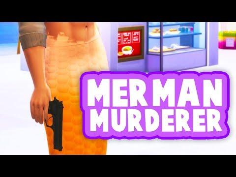 MERMAN MURDERER!🔫 // THE SIMS 4 | LIFE AS TEEN PARENTS #33 (16 & PREGNANT)