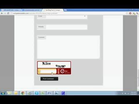 Adding a CAPTCHA to WordPress with WP-reCAPTCHA