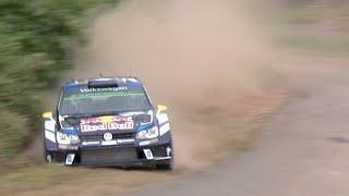 WRC Rallye Deutschland 2016 | Flat Out & Almost Crash | Shakedown