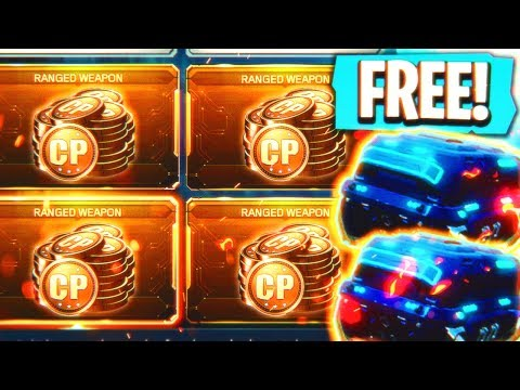 *NEW* FREE COD POINTS + DLC WEAPONS UPDATE! - Black Ops 3