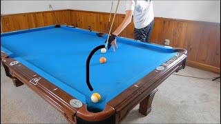 How to Curve a Pool Ball   Masse Tutorial