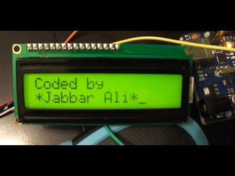 ps2 mouse with serial lcd and arduino uno  caption added