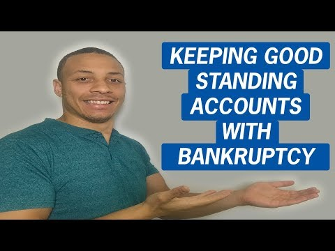Credit Healing Q&A | How to Avoid Good Standing Accounts Being Included in Bankruptcy